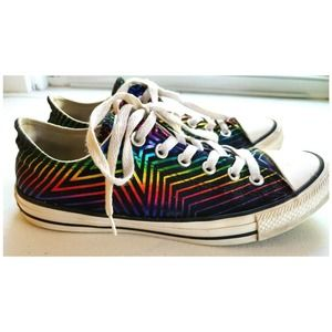 CONVERSE ALL STAR Chuck Taylor Rainbow Sneakers